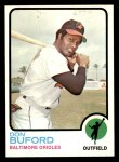 1973 Topps #183  Don Buford  Front Thumbnail