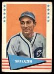 1961 Fleer #54  Tony Lazzeri  Front Thumbnail