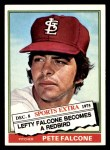 1976 Topps Traded #524 T Pete Falcone  Front Thumbnail