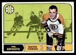 1968 Topps #7  Phil Esposito  Front Thumbnail
