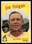 1959 Topps #47  Jim Finigan  Front Thumbnail