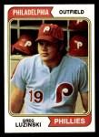 1974 Topps #360  Greg Luzinski  Front Thumbnail