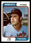 1974 Topps #659  Joe Lis  Front Thumbnail