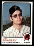 1973 Topps #336  Tom Bradley  Front Thumbnail