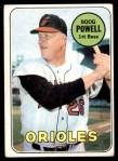 1969 Topps #15  Boog Powell  Front Thumbnail