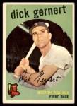 1959 Topps #13  Dick Gernert  Front Thumbnail
