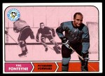 1968 Topps #109  Val Fonteyne  Front Thumbnail