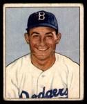 1950 Bowman #58  Carl Furillo  Front Thumbnail