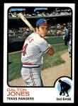 1973 Topps #512  Dalton Jones  Front Thumbnail