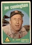 1959 Topps #285  Joe Cunningham  Front Thumbnail