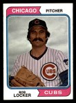 1974 Topps #62  Bob Locker  Front Thumbnail