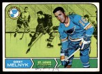 1968 Topps #120  Gerry Melnyk  Front Thumbnail