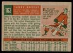 1959 Topps #163  Sandy Koufax  Back Thumbnail