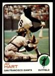 1973 Topps #538  Jim Ray Hart  Front Thumbnail