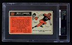 1965 Topps #134  Billy Cannon  Back Thumbnail