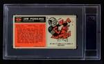 1965 Topps #61  Jim Perkins  Back Thumbnail
