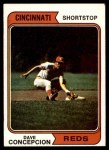 1974 Topps #435  Dave Concepcion  Front Thumbnail