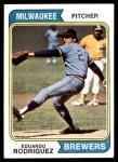 1974 Topps #171  Eduardo Rodriguez  Front Thumbnail