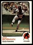 1973 Topps #640  Dick Bosman  Front Thumbnail