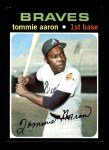 1971 Topps #717  Tommie Aaron  Front Thumbnail