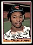 1976 Topps Traded #127 T Larvell Blanks  Front Thumbnail