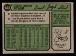 1974 Topps #629  Rusty Staub  Back Thumbnail