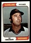 1974 Topps #327  Tom Timmermann  Front Thumbnail