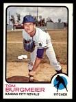 1973 Topps #306  Tom Burgmeier  Front Thumbnail