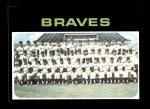 1971 Topps #652   Braves Team Front Thumbnail