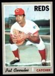 1970 Topps #507  Pat Corrales  Front Thumbnail
