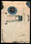 1969 Topps Man on the Moon #18 A  Tiros 1 Back Thumbnail