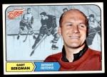 1968 Topps #25  Gary Bergman  Front Thumbnail
