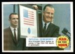 1969 Topps Man on the Moon #40 B  Official Ceremony Front Thumbnail