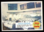 1969 Topps Man on the Moon #46 B  Monitor Countdown Front Thumbnail