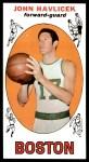 1969 Topps #20  John Havlicek  Front Thumbnail
