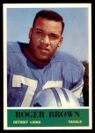 1964 Philadelphia #58  Roger Brown   Front Thumbnail