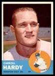 1963 Topps #468  Carroll Hardy  Front Thumbnail