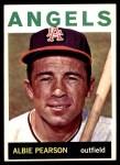 1964 Topps #110  Albie Pearson  Front Thumbnail