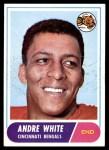 1968 Topps #148  Andre White  Front Thumbnail