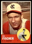 1963 Topps #301  Bill Fischer  Front Thumbnail