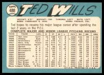 1965 Topps #488  Ted Wills  Back Thumbnail
