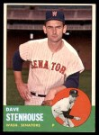1963 Topps #263  Dave Stenhouse  Front Thumbnail