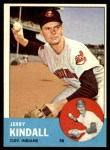 1963 Topps #36  Jerry Kindall  Front Thumbnail