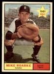1961 Topps #376  Mike Roarke  Front Thumbnail