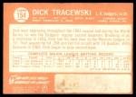 1964 Topps #154  Dick Tracewski  Back Thumbnail