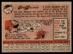 1958 Topps #356  Bobby Malkmus  Back Thumbnail