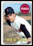 1969 Topps #215  Rico Petrocelli  Front Thumbnail