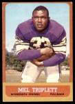 1963 Topps #100  Mel Triplett  Front Thumbnail