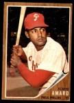 1962 Topps #284  Ruben Amaro  Front Thumbnail