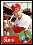 1963 Topps #404 RGT Bob Oldis  Front Thumbnail